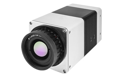 Infrared camera VarioCAM® HD head 900 series front view.