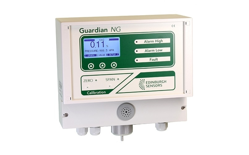 Real time gas monitor