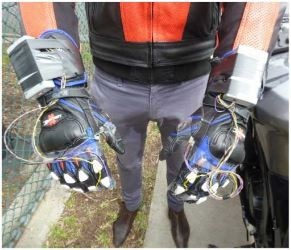 This image shows the entire glove system. (1)