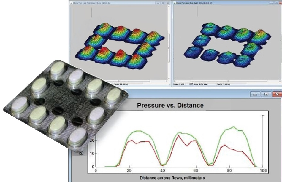 Pressure Distribution of the Pill Blister Pack