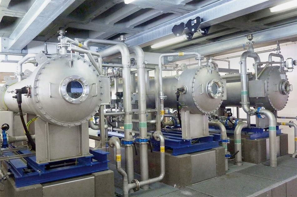 Ozone generators ensure the production of safe drinking water.