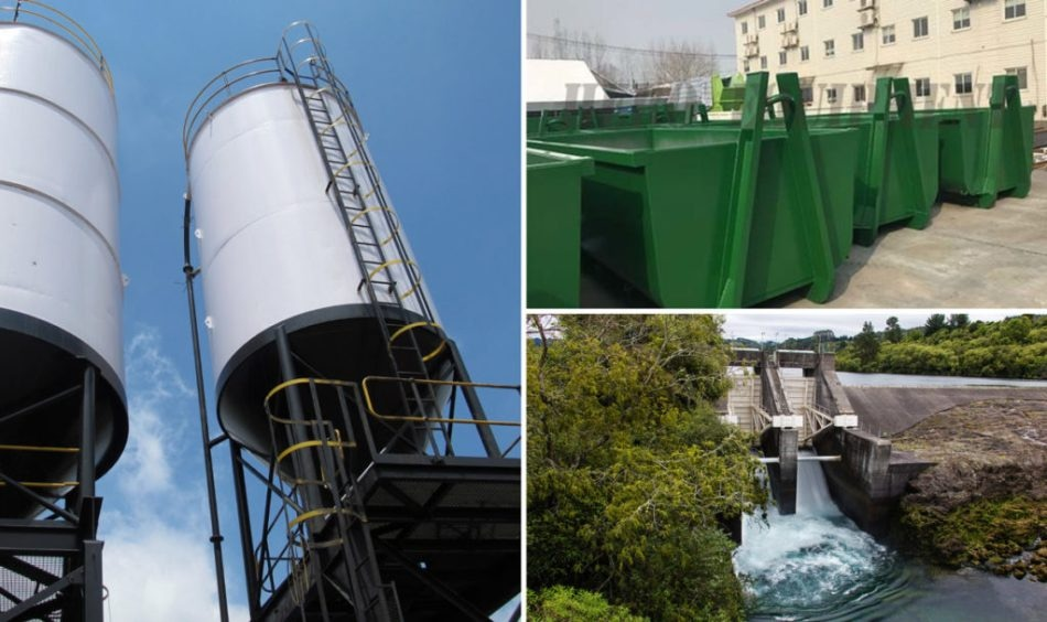 Monitoring Waste Containers and Silos Using Time-of-Flight