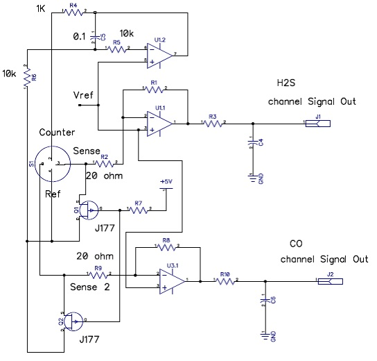 Recommended circuit for SGX-4DT