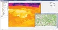 ThermalCapture is able to enrich the raw data with additional information like position and time from GPS.