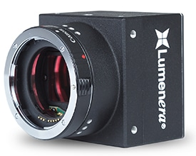 Another key element to the selection of the Lt16059H camera for the ITS vendor's application was the camera's Canon EF lens mount.