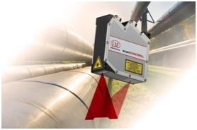 The scanCONTROL laser scanner measures with highest precision and is amongst others used for pipeline inspection.