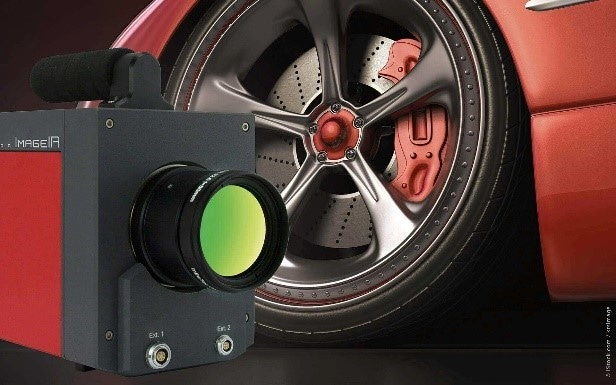 Thermography in automotive industry