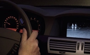 Using Thermal Imaging in BMW Cars