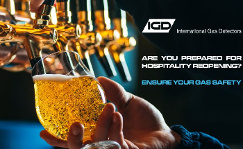 CO2 Gas Monitors and Oxygen Sensors for the Hospitality Sector