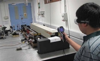 Identifying Harmful Infrared Beams in Laser Rooms with FLIR Thermal Imaging Cameras