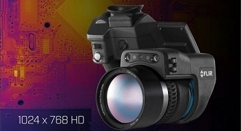 Free Webinar: The FLIR T1030sc High-Definition Thermal Imaging Camera