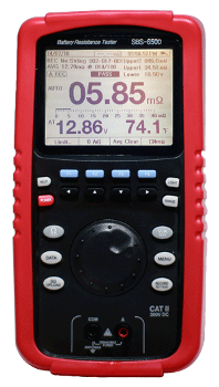 The SBS-6500 Analyzer Complete Battery Resistance Tester and Data Logger