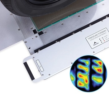 Pressure Imaging System for Tire Tread Analysis