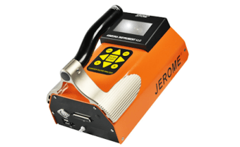 J605 Hydrogen Sulfide Gas Monitor for Low-level Portable Analysis