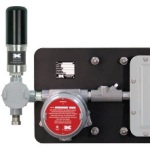 Real-Time, 32-Channel Control Panel for Wireless Gas Detectors