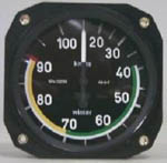 Winter 1 turn Air Speed Indicator (ASI) 7213 from Airplan Flight Equipment