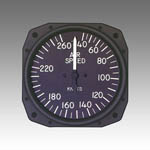Standard Airspeed indicator from Sigma Tek, Inc