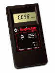 Alpha, beta, gamma and x-radiation can be measured using the Inspector