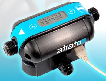 Atrato Ultrasonic Flow Meter with Time of Flight Measurement System from Titan