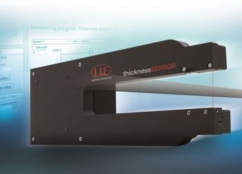 thicknessSENSOR for Laser-Optical Thickness Measurement