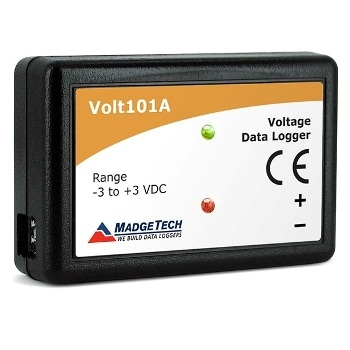 Battery-Powered DC Voltage Data Logger - Volt101A Data Logger