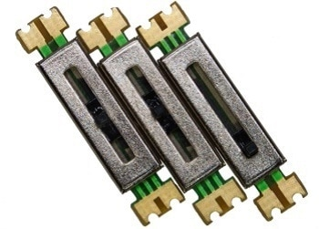 Miniature Slide Potentiometer with a Long Operation Life - PSM