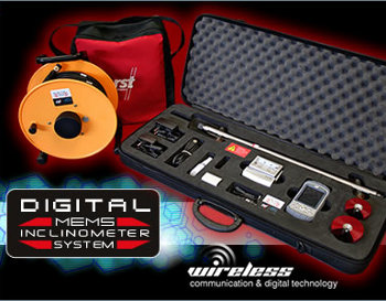 Digital MEMS Inclinometer System from RST Instruments