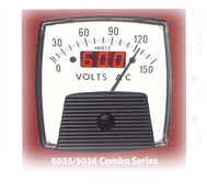Analog / Digital Combo Meter from Hoyt Electrical Instrument Works Inc.