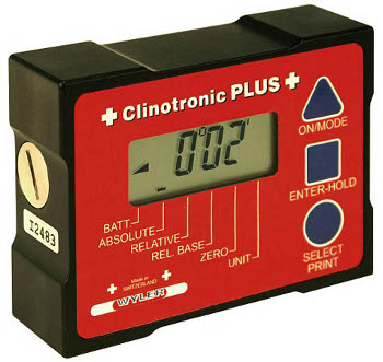 Clinotronic Plus IR Digital Inclinometers from Bowers Metrology