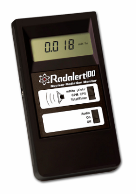 Counter for Radiation Detection - Radalert 100 by International Medcom