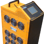 SBS-200CT Forklift Battery Discharge Cycler for Material Handling