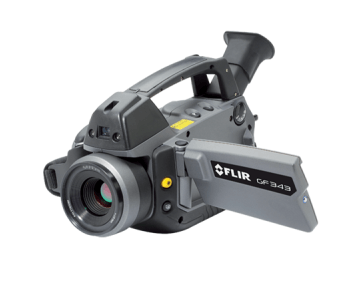Optical Gas Imaging Camera for CO2 Leak Detection – FLIR GF343