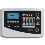 Monitor up to 32 Gas Detectors - MX 43 Digital and Analog Controller