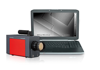 Increased Geometrical Resolution for Thermographic Cameras – MicroScan
