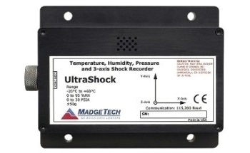 Tri-Axial Shock Data Logger - UltraShock Data Logger