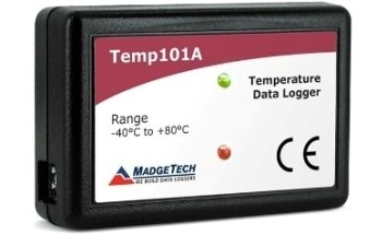 Data Logger with a 10-Year Battery Life - Temp101A Data Logger