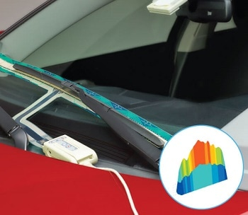 Tactile Pressure Sensor for Windshield Wiper Pressure Mapping - Wiper™ System