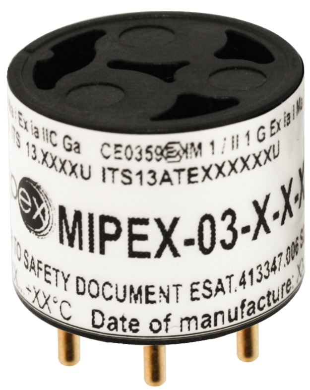 MIPEX-03 LED-Based NDIR Gas Sensors