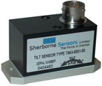 T640 Series Single Axis Inclinometer from Sherborne Sensors
