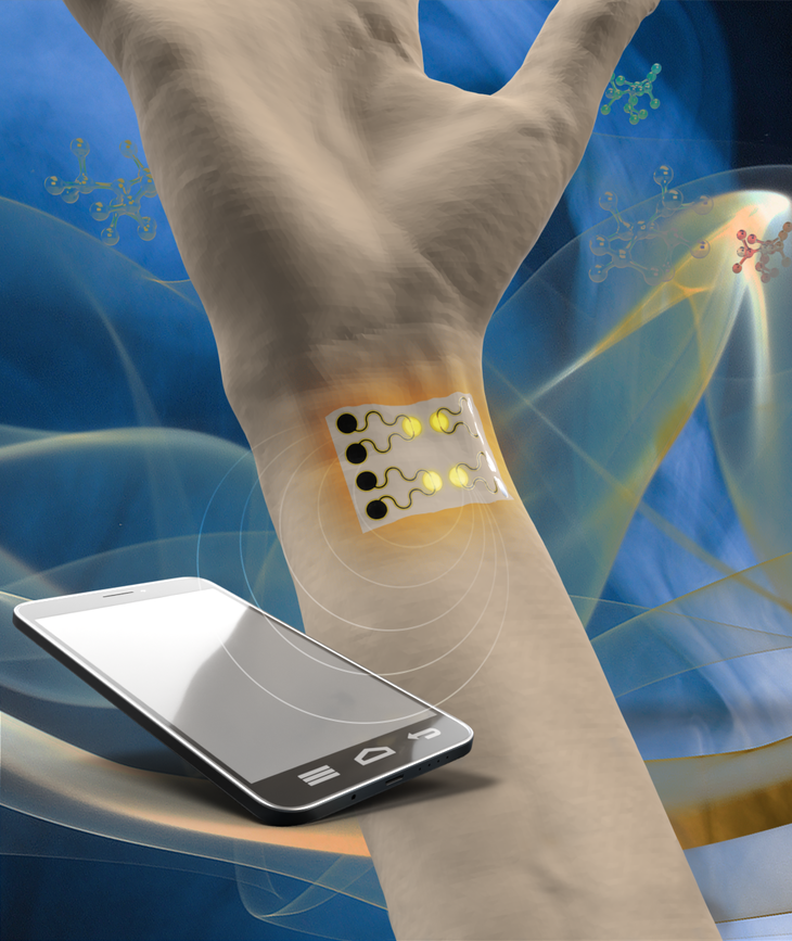 Highly Sensitive Gas Sensor for Monitoring Human Health and the Environment