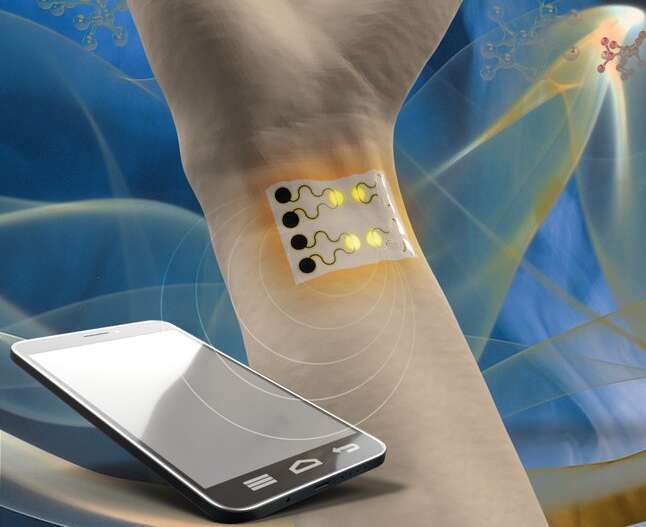Wearable Gas Sensor Developed for Health Monitoring