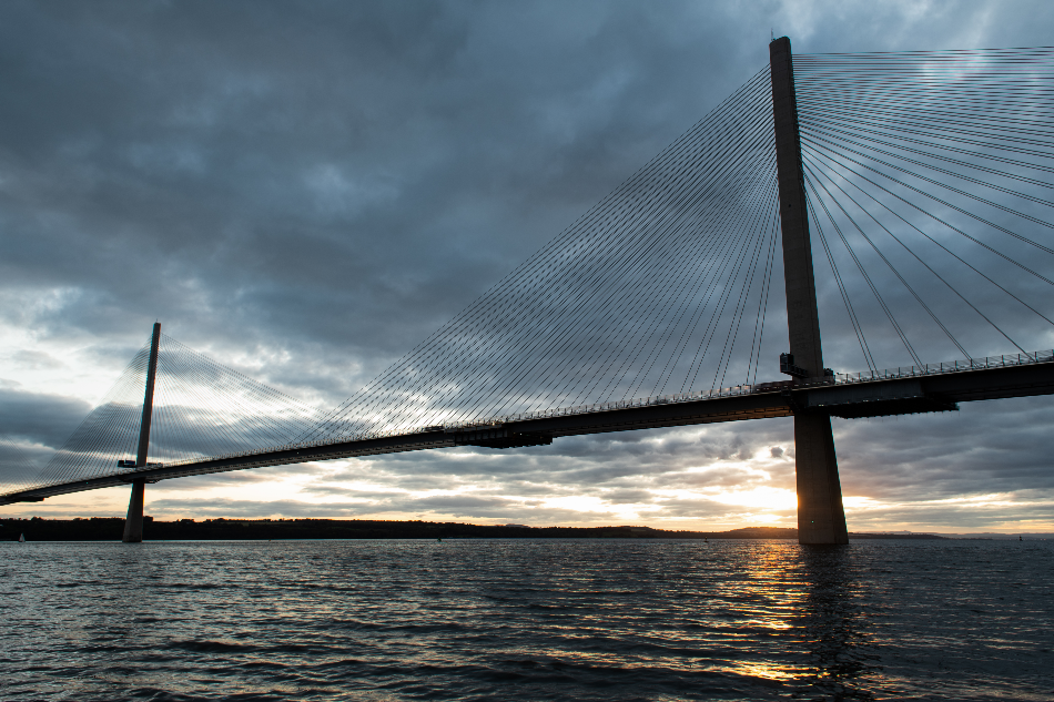 The Queensferry Crossing to Have Ice Sensors Installed