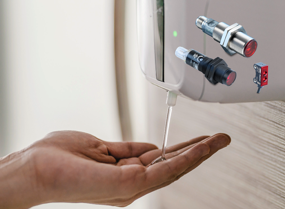 Robust, Reliable Sensors for Automatic Hand Sanitisers