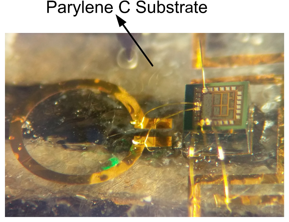 Fully Implantable Transmitter Chip for Wireless Sensor Nodes, Biomedical Devices