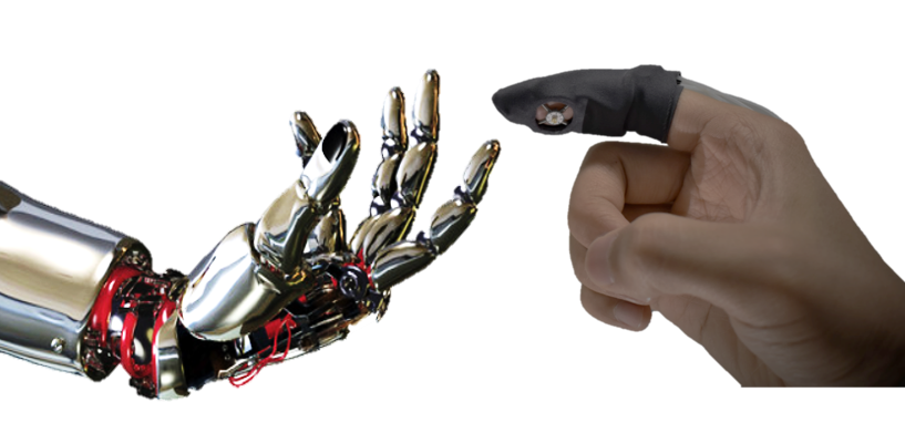 New Glove-like Device Mimics Sense of Touch