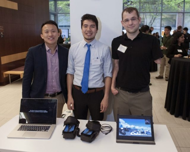 Johns Hopkins Grad Students Devise Foot-Activated Game Controller for Upper-Limb Amputees