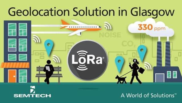 Semtech's New LoRa Geolocation Solution Integrated into LoRaWAN-Based IoT Network in Glasgow