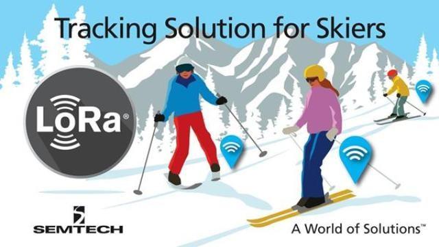 Semtech LoRa Wireless RF Technology Deployed to Monitor Skiing Students on Swiss Alps