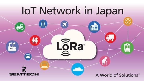 SoftBank Deploys Semtech LoRa Wireless RF Technology for New IoT Network in Japan