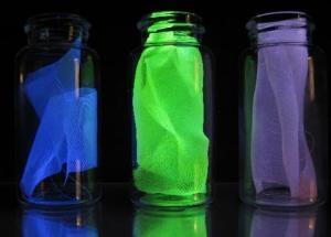 New Strategy to Embed Nanoscale Damage-Sensing Probe into Lightweight Epoxy-Silk Composite